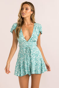 Chantelle Playsuit / Mint