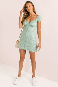 Yasmin Dress / Mint