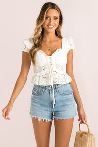 Ashton Top / White