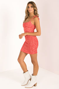 Marcie Dress / Red