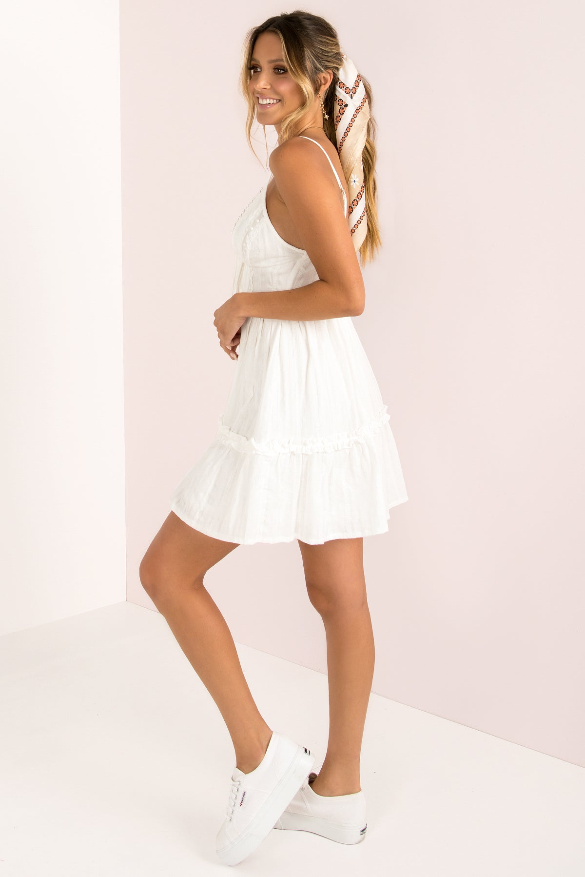 Tabitha Dress / White