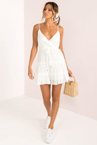 Anita Dress / White