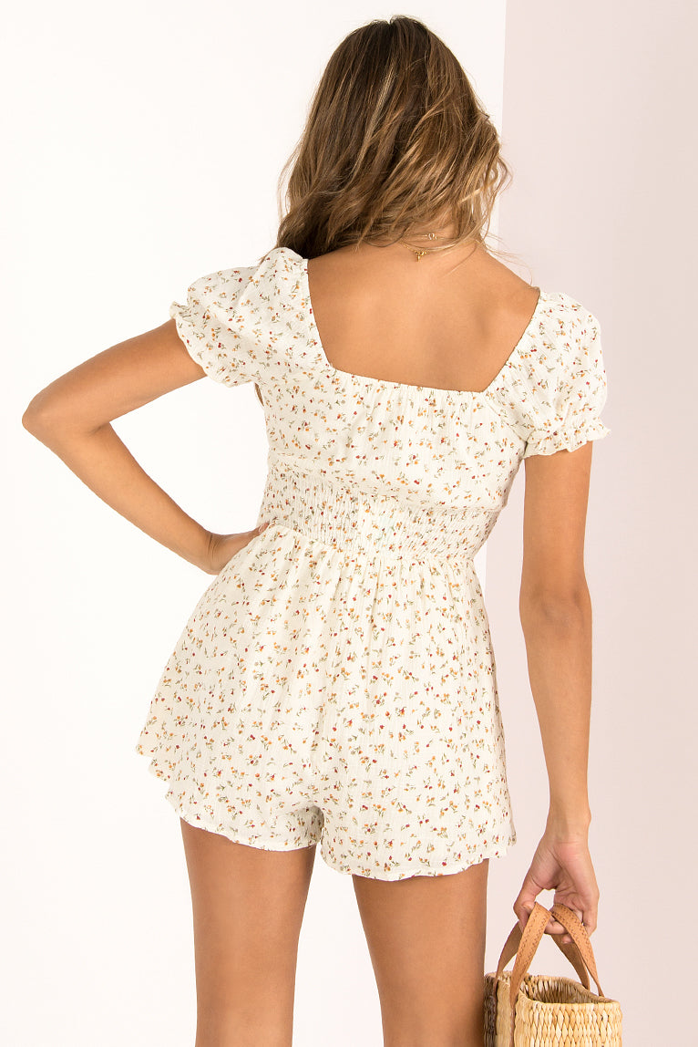 Abby Playsuit / Floral