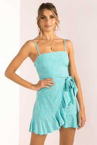 Leah Dress / Teal