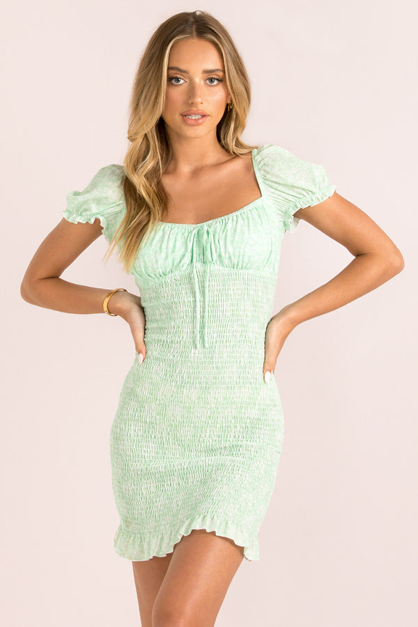 Tina Dress / Mint