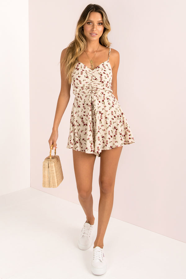 Nancy Playsuit / Beige