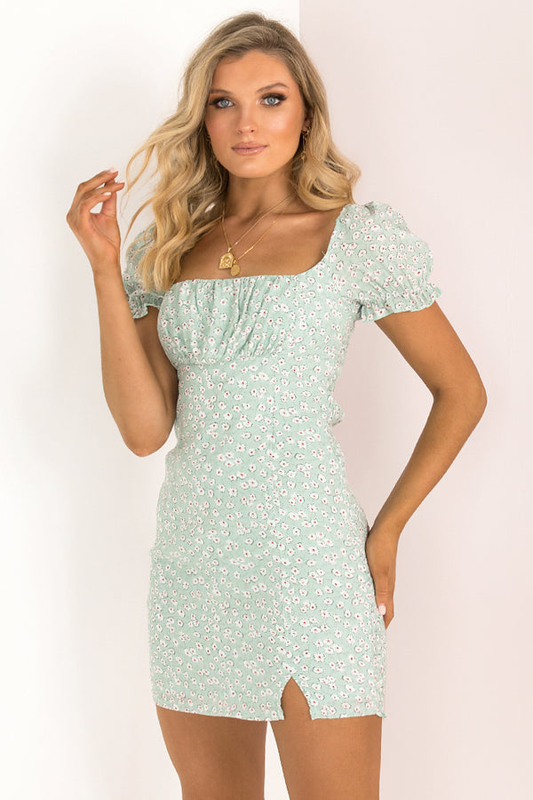 Aggie Dress / Mint