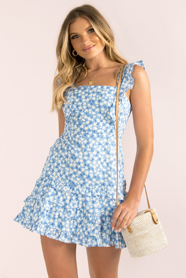 Aidan Dress / Blue