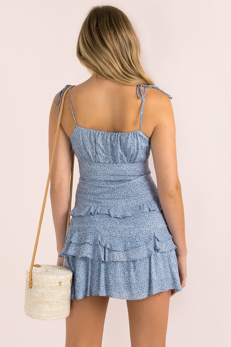 Carter Dress / Blue