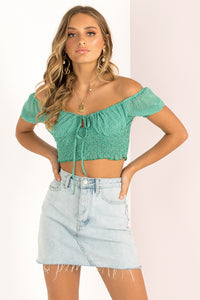 Cindy Top / Green