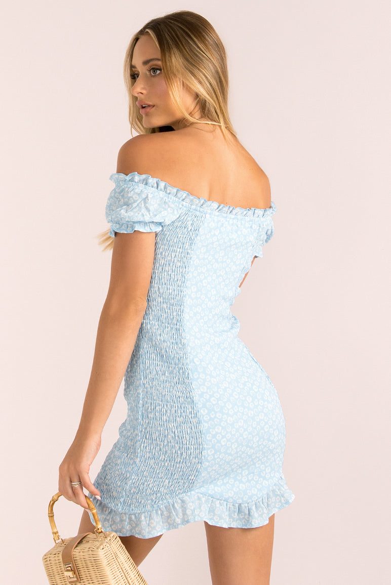 Elissa Dress / Blue