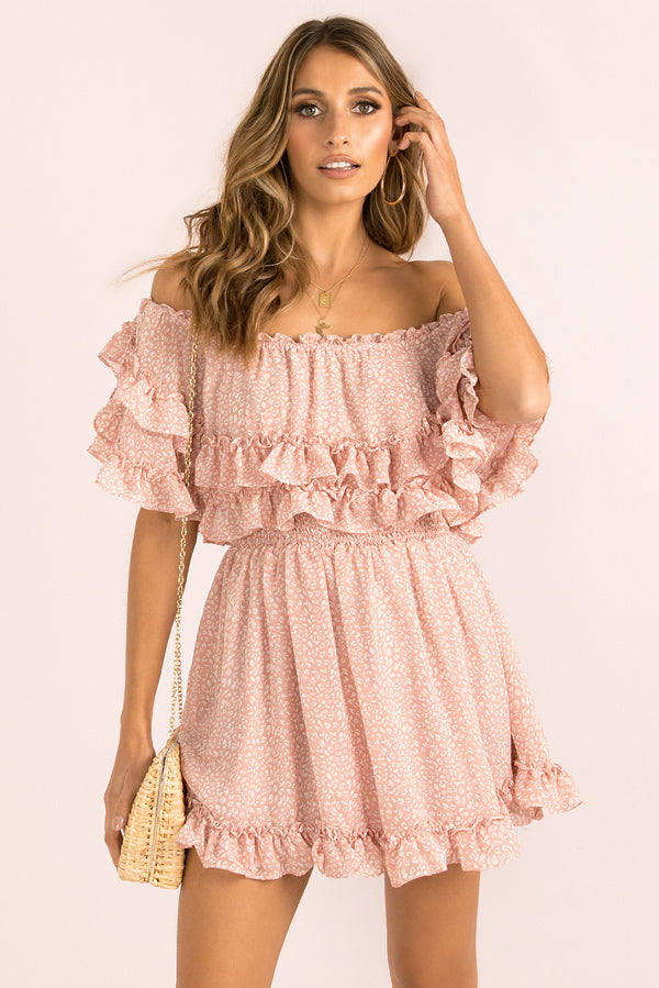 Marissa Dress / Blush