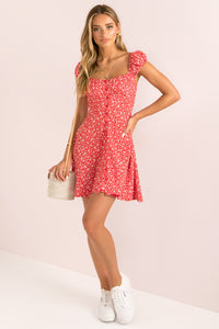 Astrid Dress / Red