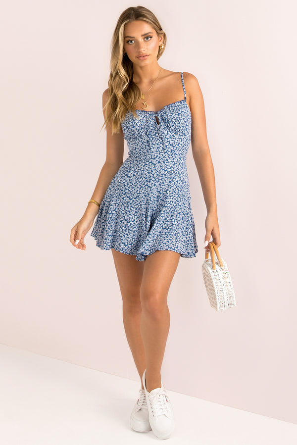 Olivia Playsuit / Navy