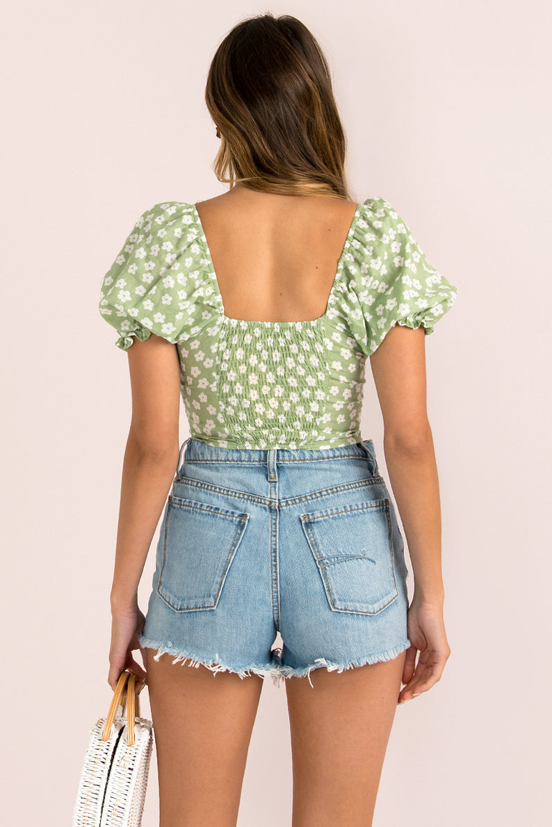 Laura Top / Green