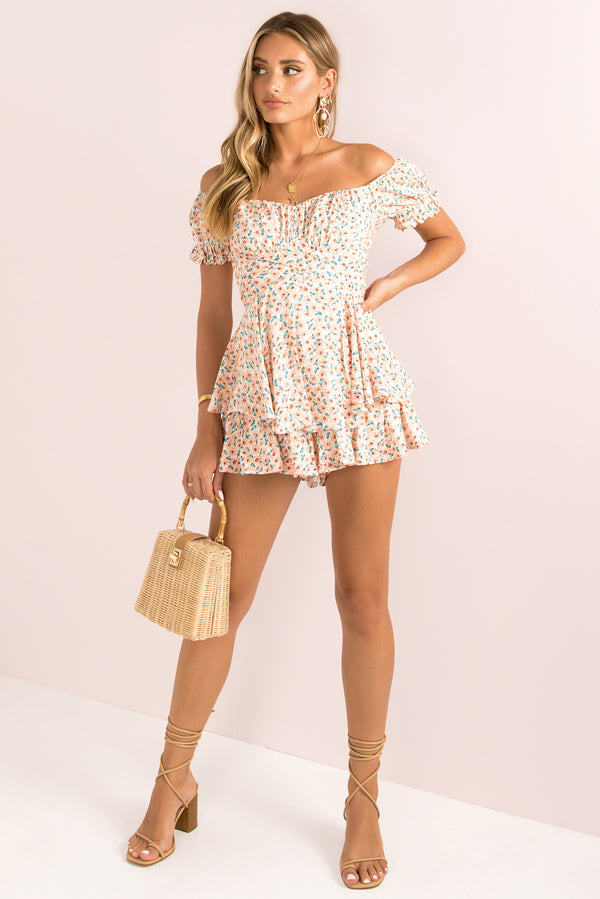 Ruth Playsuit / Blush