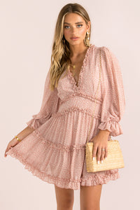 Aurora Dress / Blush