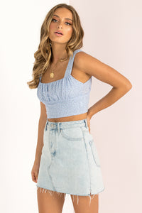 Milly Top / Blue