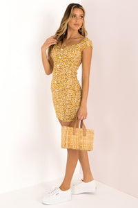 Holly Dress / Yellow
