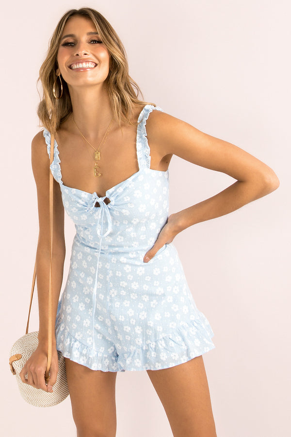 May Playsuit / Sky