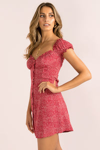Yasmin Dress / Red