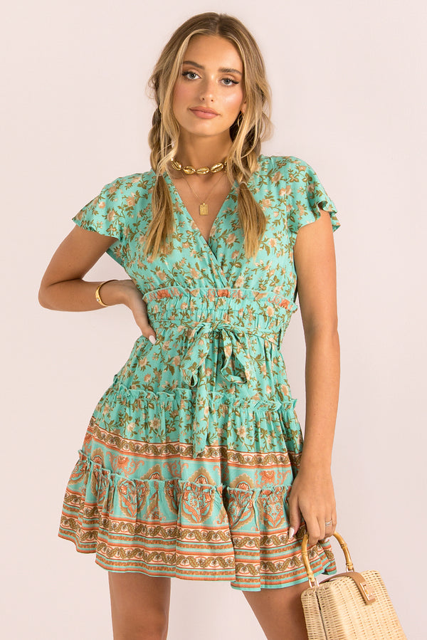Zahara Dress / Mint