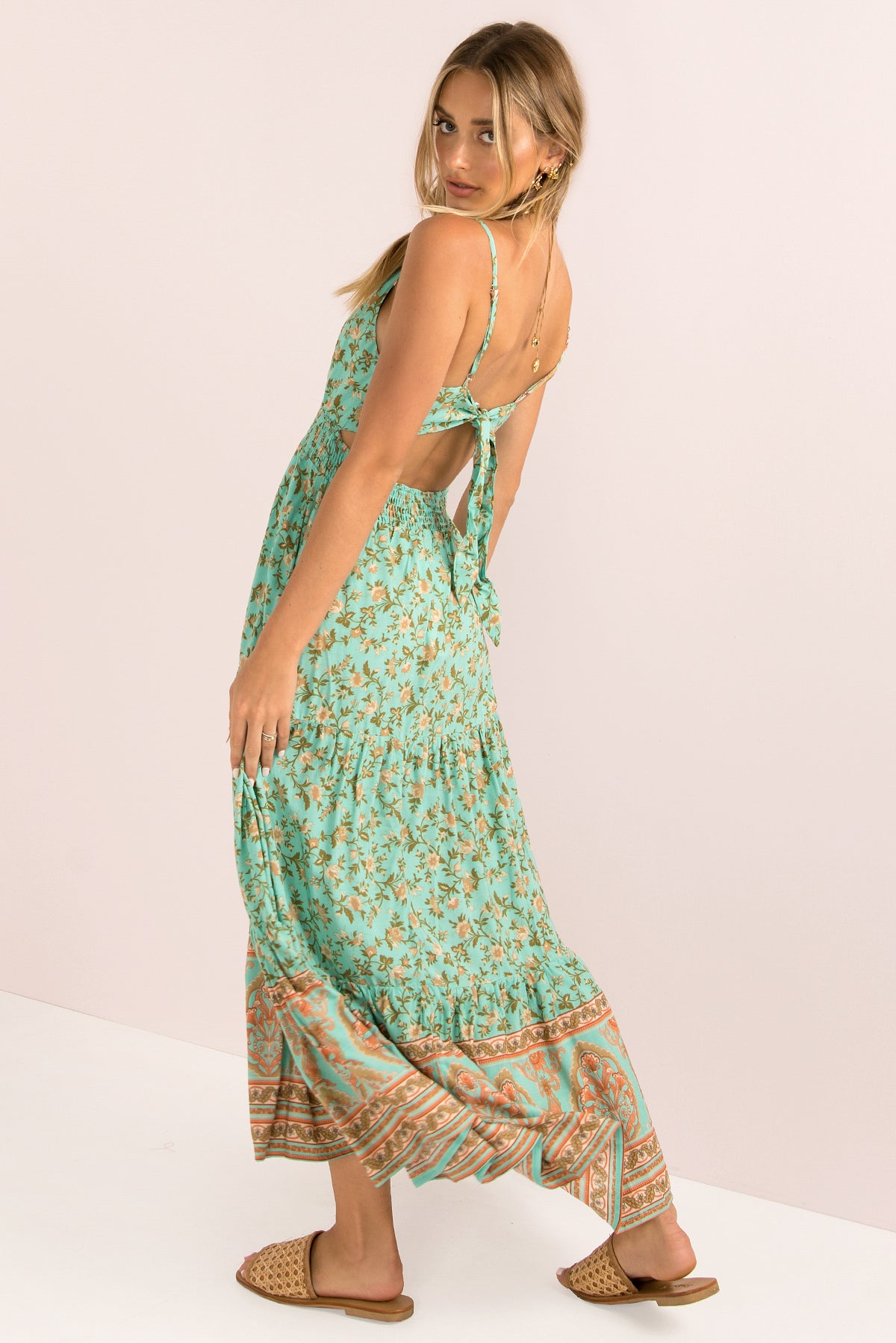 Fable Dress / Mint