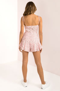 Annie Playsuit / Blush