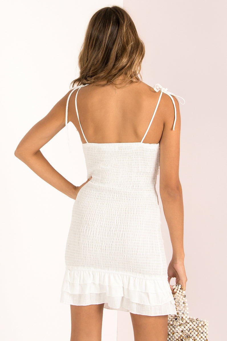 Kimberly Dress / White