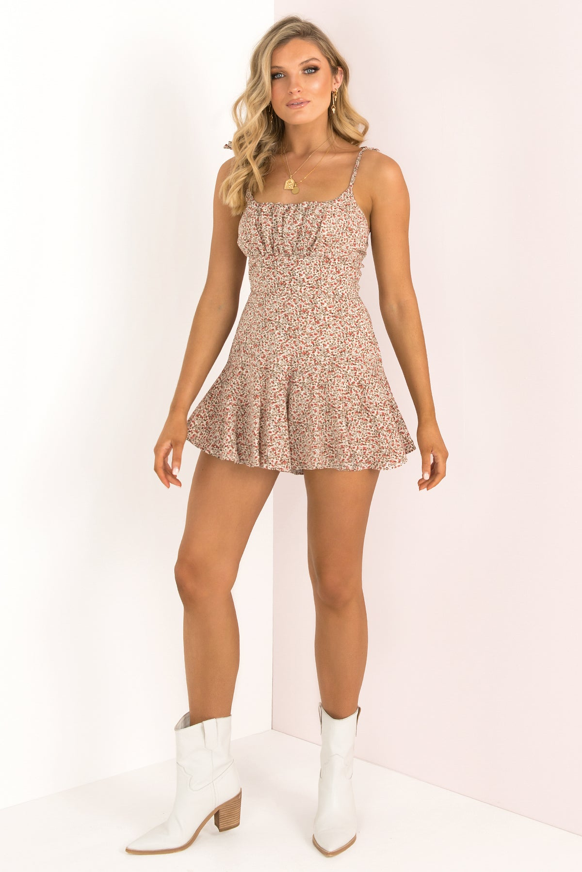 Annie Playsuit / Ivory