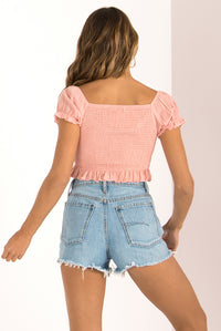 Wyatt Top / Blush