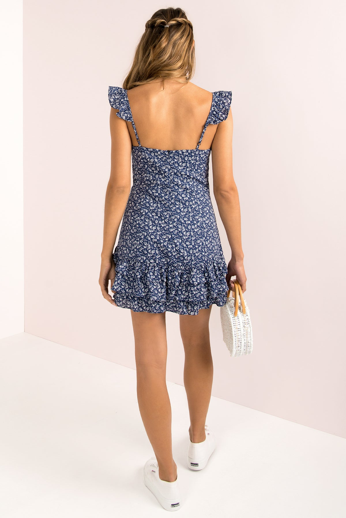 Ingrid Dress / Blue
