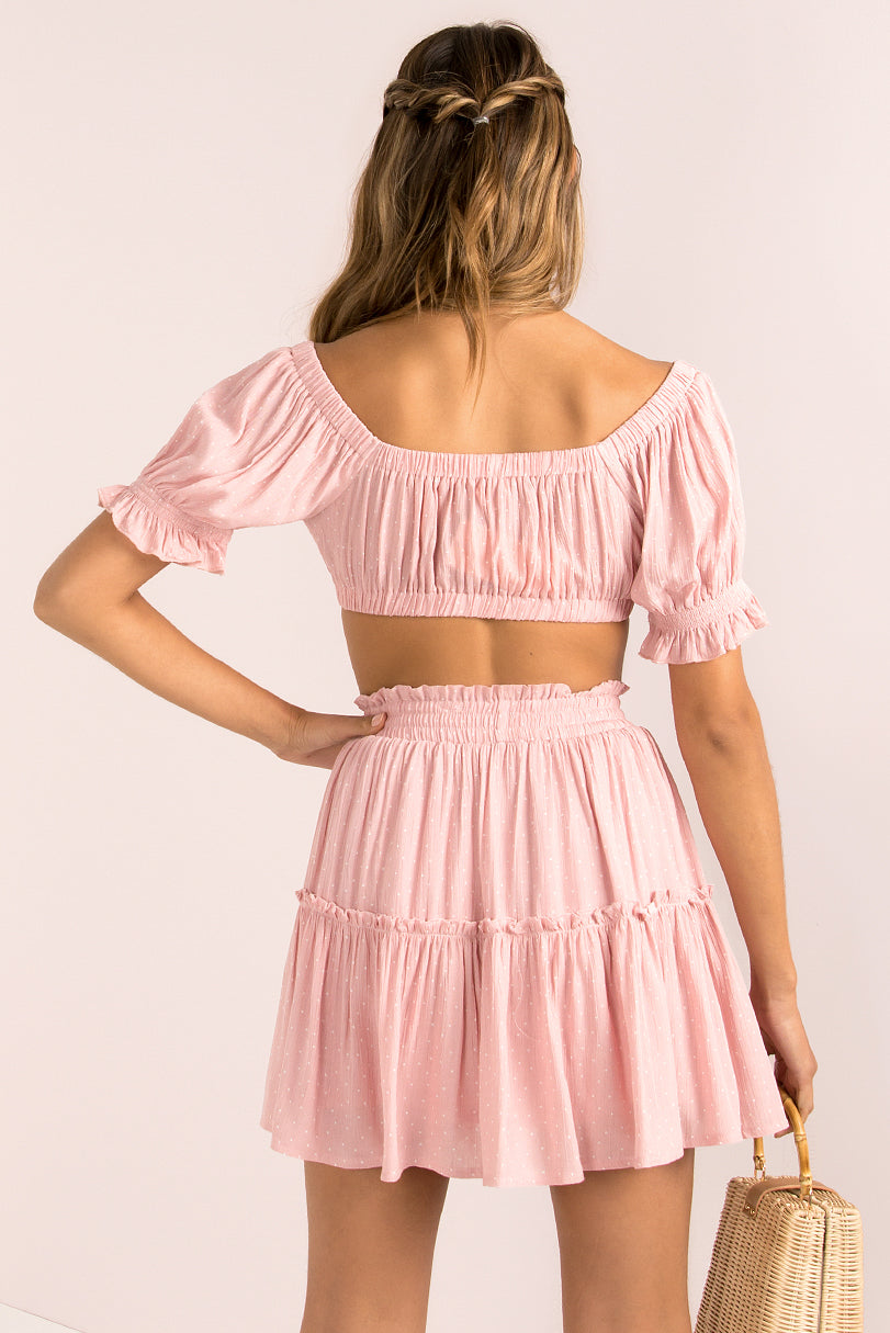 Melody Skirt / Blush