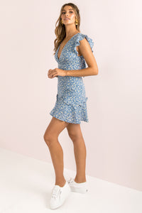 Gracie Dress / Blue