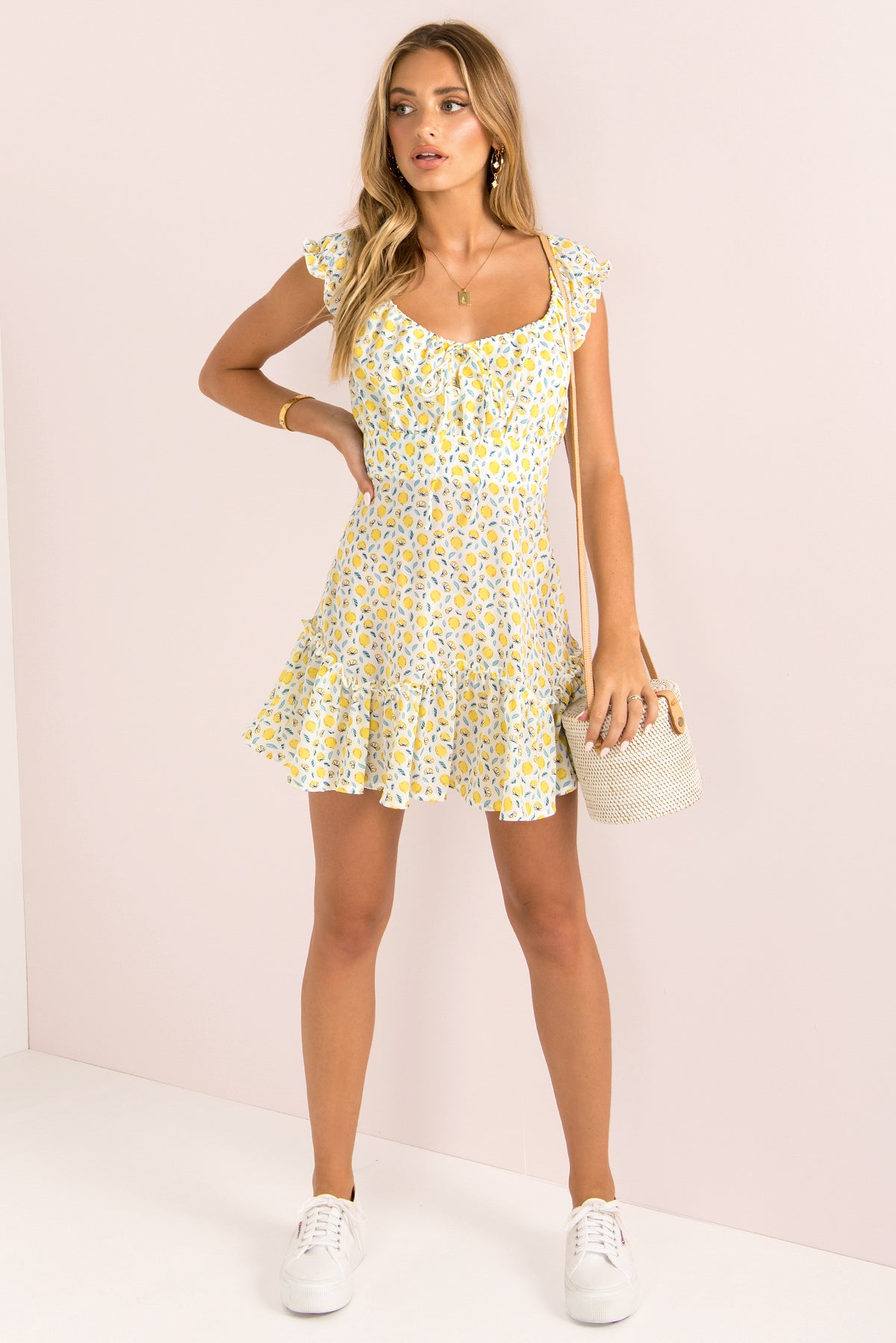 Ellie Dress / Lemon
