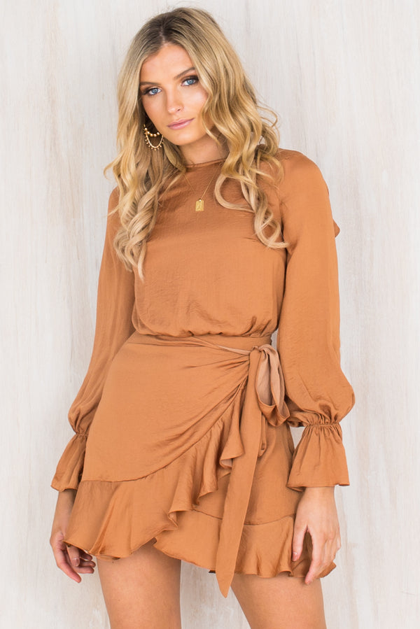 Annabel Dress / Tan