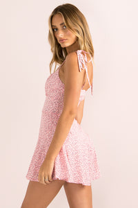 Annie Playsuit / Blush Floral