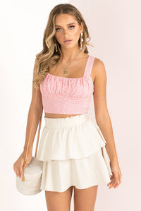 Milly Top / Blush