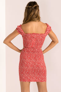 Holly Dress / Red