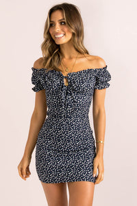 Bambi Dress / Navy