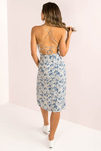Sariah Dress / Blue