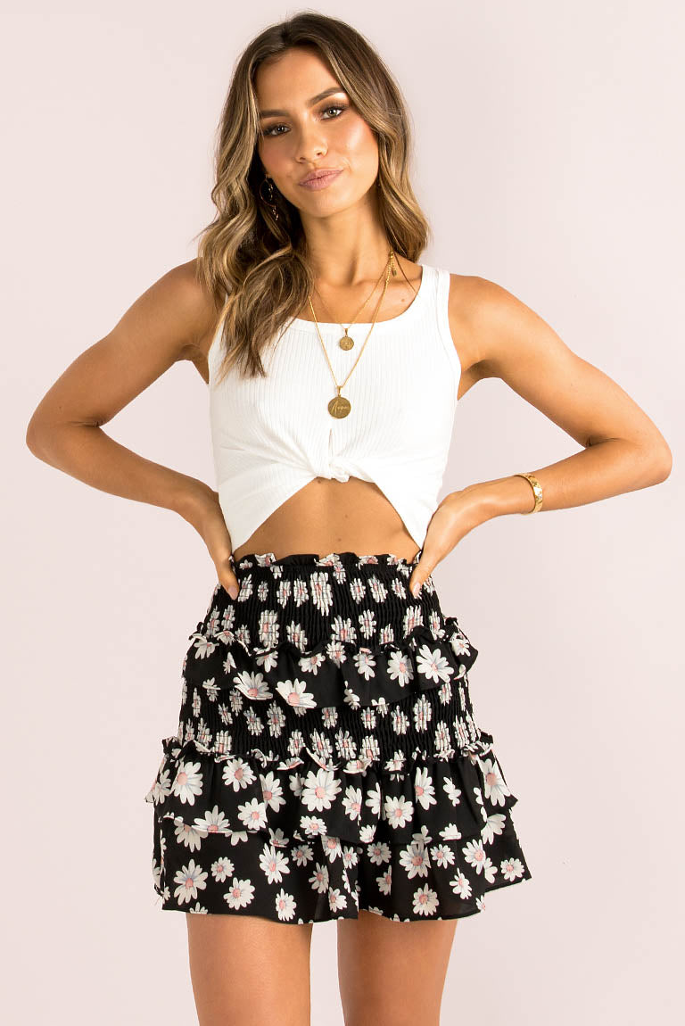 Brigita Skirt / Black