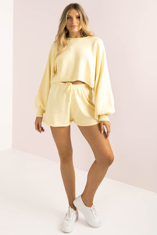 Mimi Shorts / Lemon