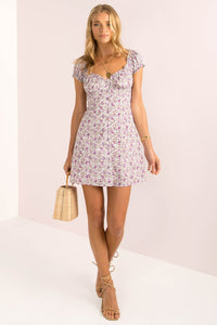 Yasmin Dress / Lilac Floral