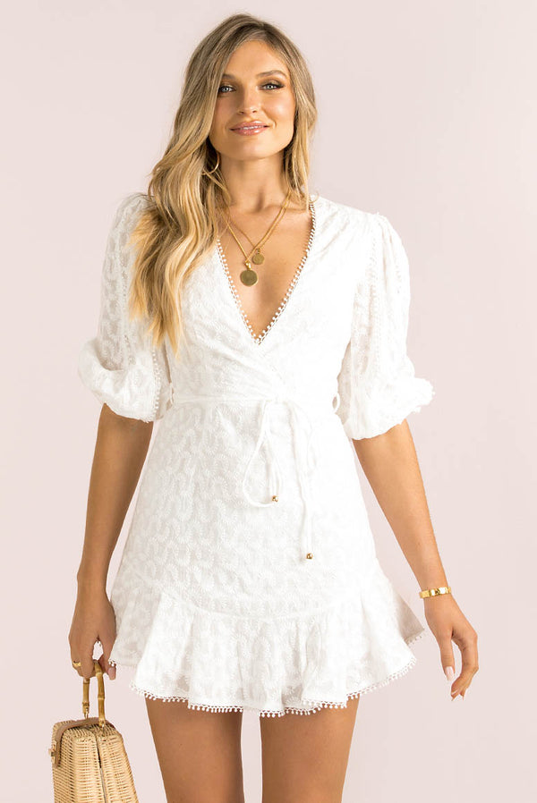 Fallon Dress / White