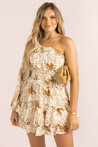 Serafina Dress / Tan