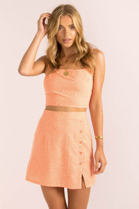 Stevie Skirt / Orange