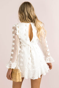 Bijou Dress / White
