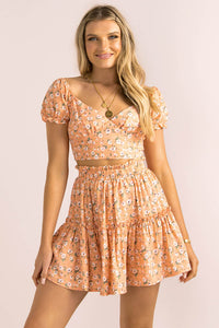 Evalee Skirt / Peach