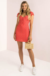 Gia Dress / Red